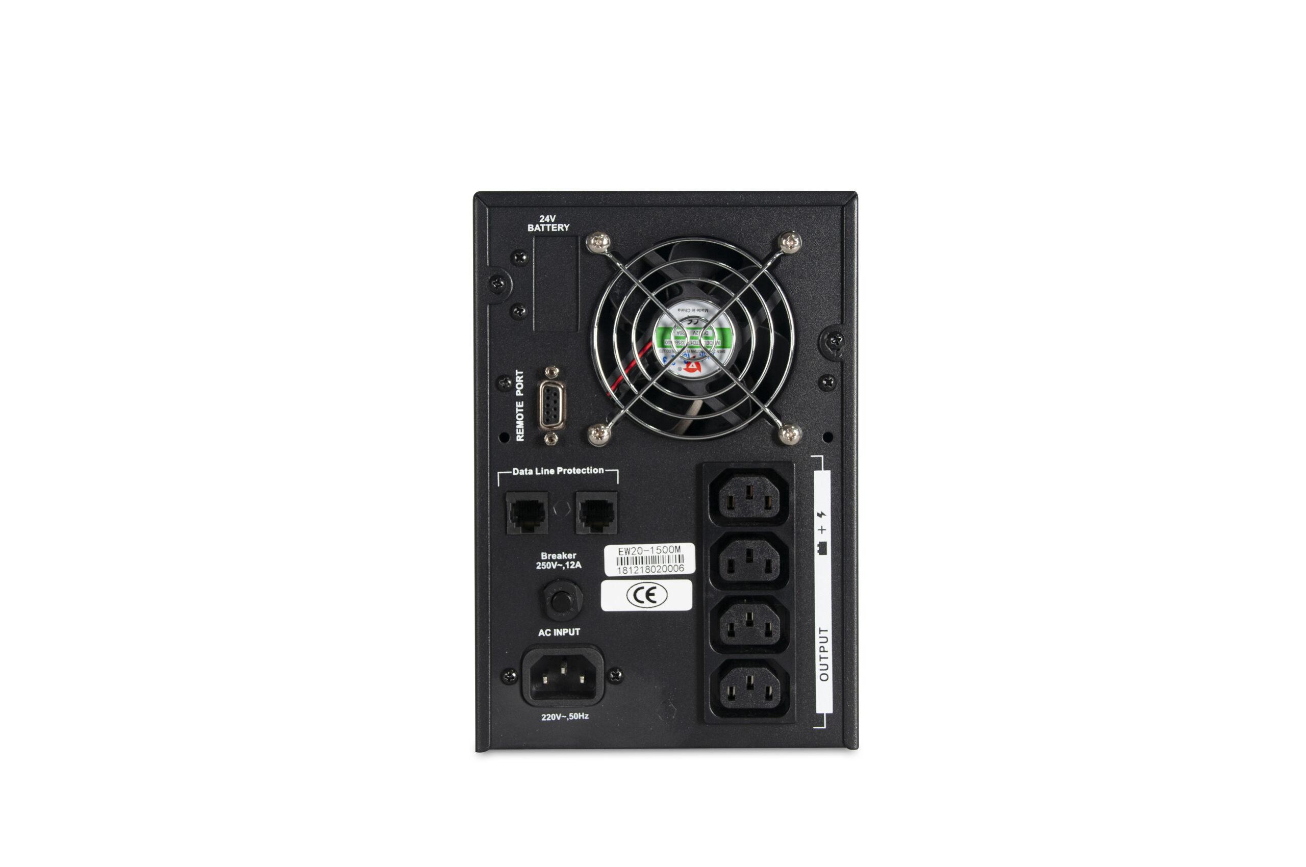 EW2000 Pro Internal Battery Series Line Interactive UPS (0.5-5KVA)