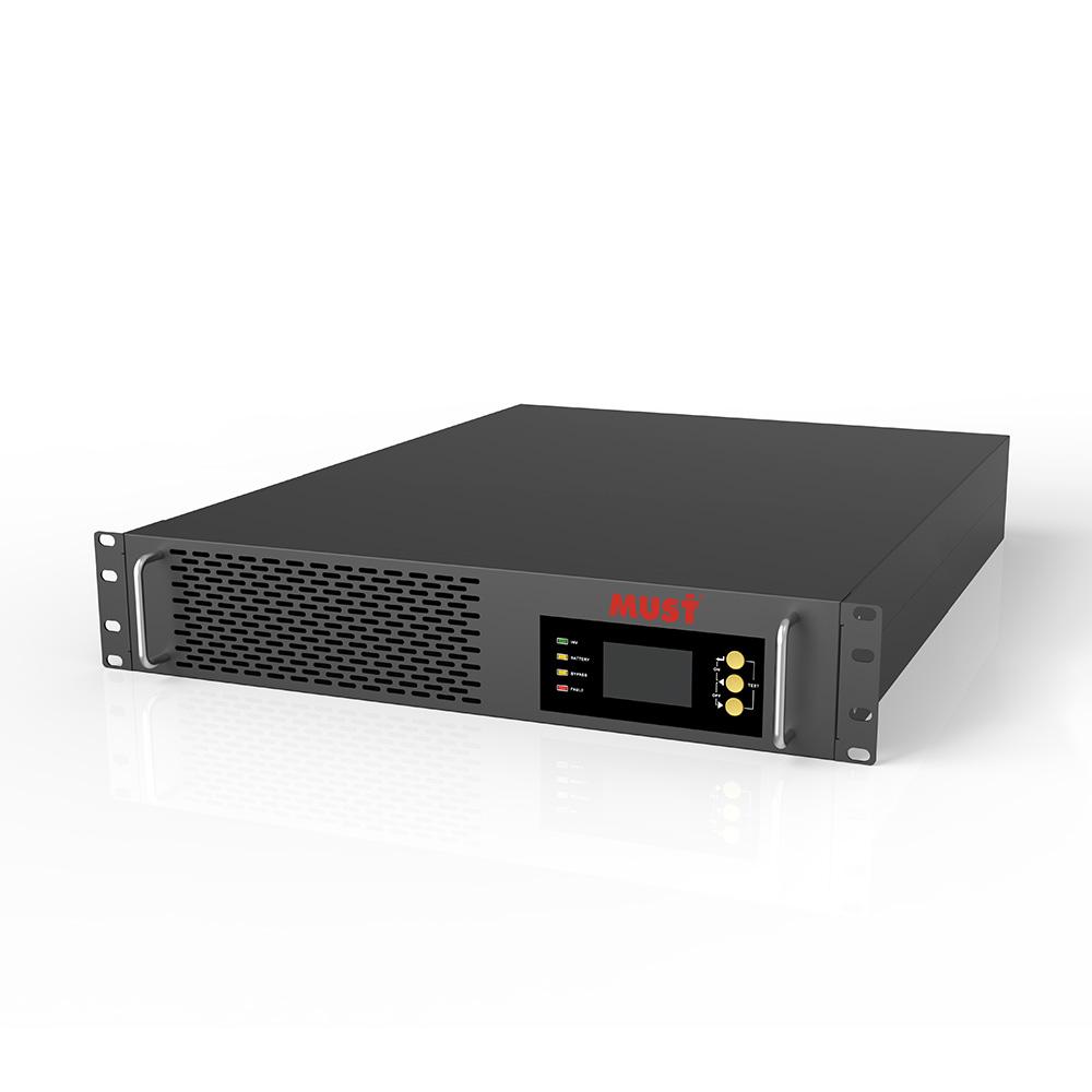 EH5500 Rack Mount Internal Battery Series High Frequency Online UPS (1-3KVA)