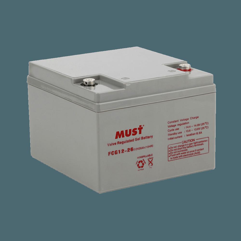 FCG Series General Purpose Gel VRLA Battery (6/12V)