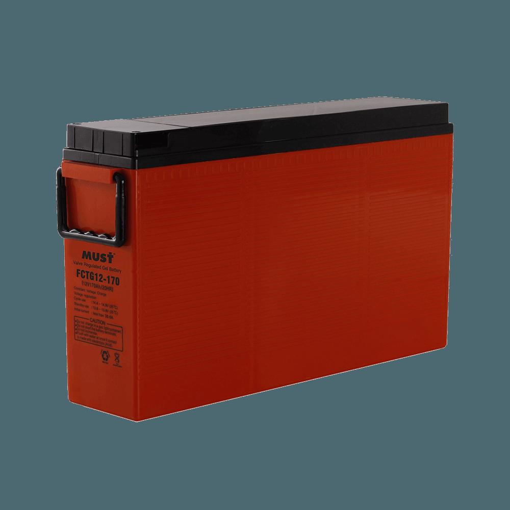 FCTG Series Front Terminal Gel VRLA Battery (12V)